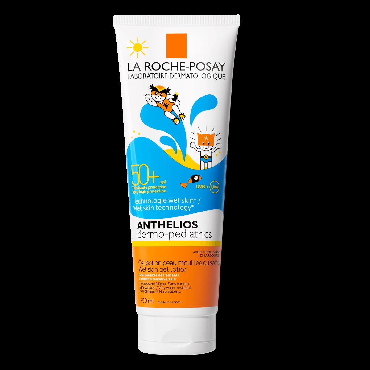 La Roche Posay Tuotesivu Aurinko Anthelios Wet Skin Gel Dermo Pediatrics