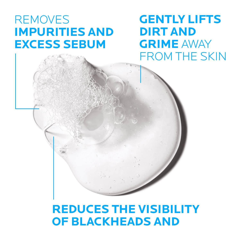 Larocheposay Tuotesivu Epäpuhtauksiin taipuvaisuus Effaclar Cleansing Foaming gel Texture