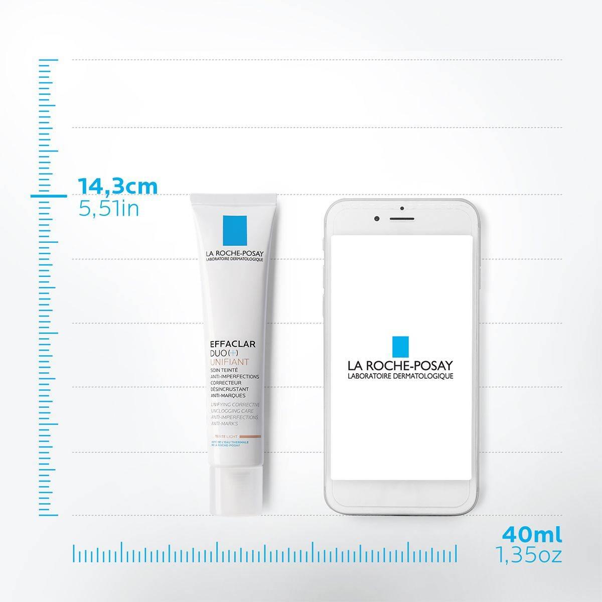 La Roche Posay Kasvojenhoito Effaclar Duo plus Unifiant Light 40ml 3337875