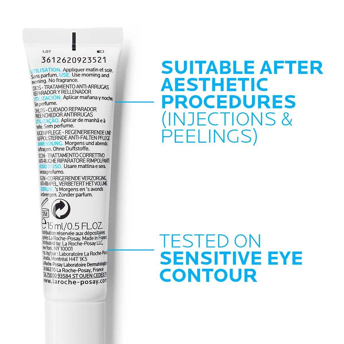 La Roche Posay Tuotesivu Ikääntymisen ehkäisy Hyalu B5 Eyes 40ml 3337875613668