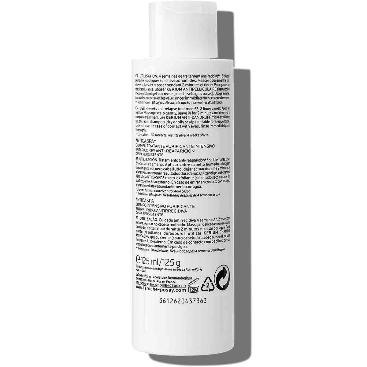 La Roche Posay Tuotesivu Kerium DS Anti Dandruff Treating Shampoo 12