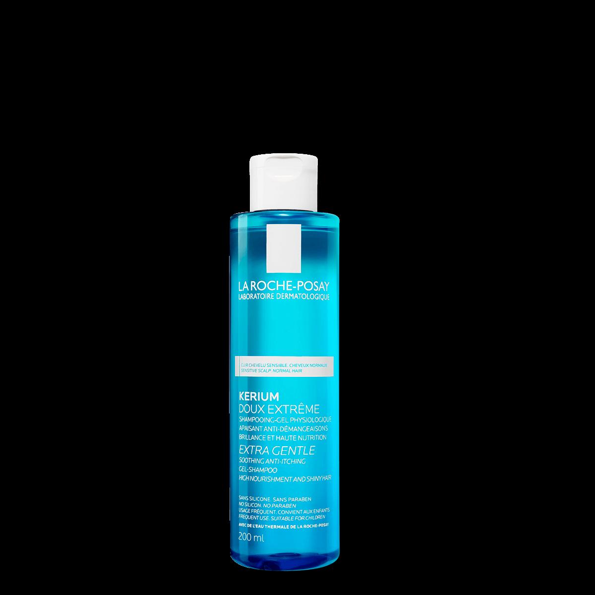 La Roche Posay Tuotesivu Kerium Extra Gentle Gel Shampoo 200ml 33378