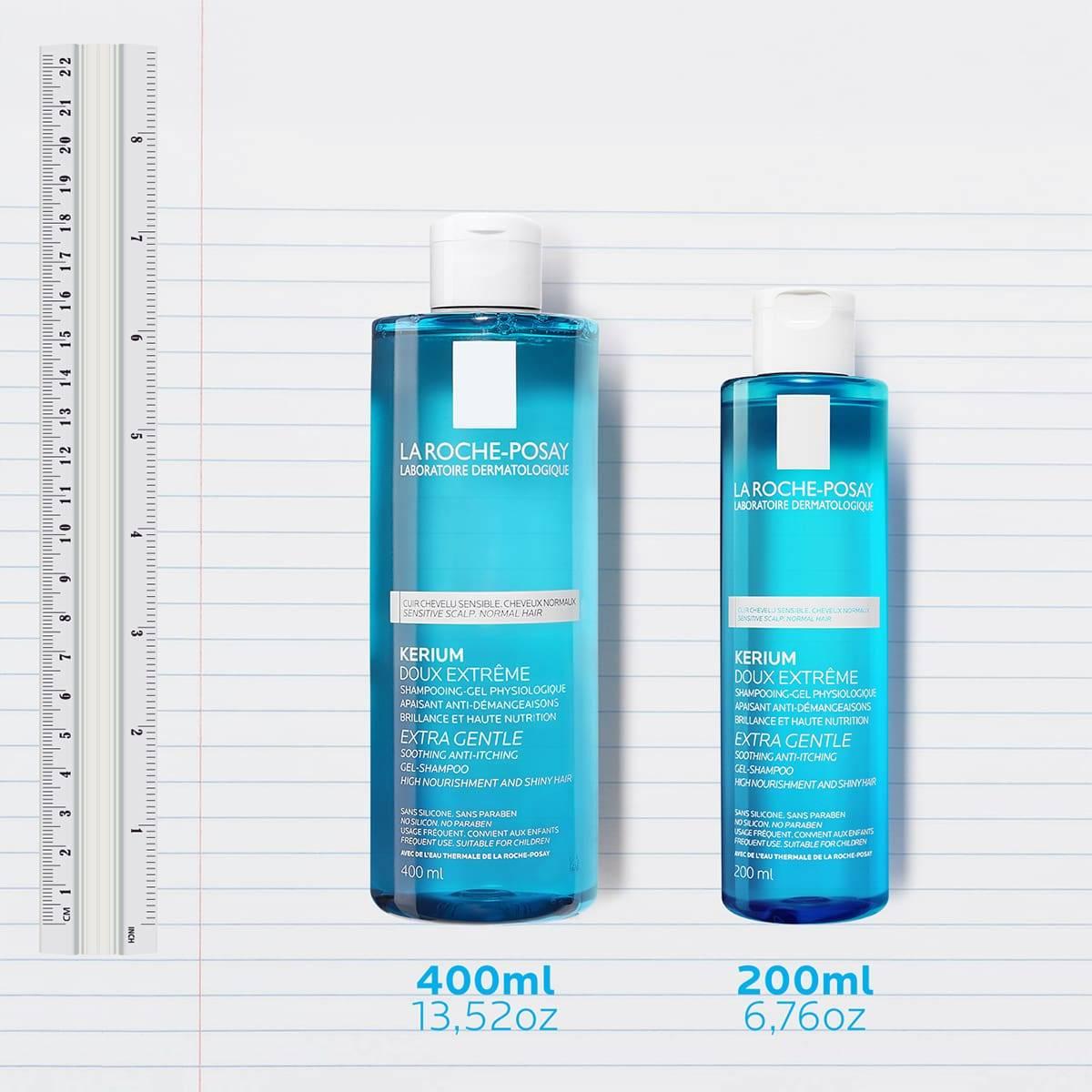 La Roche Posay Tuotesivu Kerium Extra Gentle Gel Shampoo Family 3337