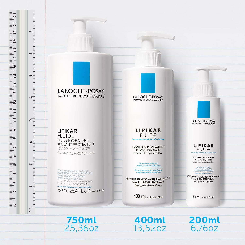 La Roche Posay Tuotesivu Epäpuhtauksiin taipuvaisuus Lipikar Fluide Family 3337875451789