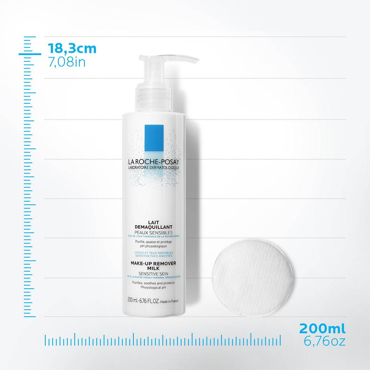 La Roche Posay Tuotesivu Face Cleanser Physiological Make Up Remover