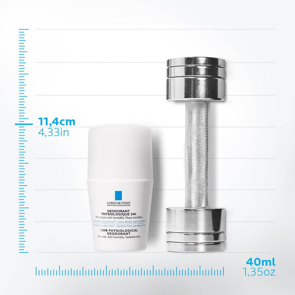 La Roche Posay Tuotesivu Deodorant Physiological Roll On 24h 50ml 33