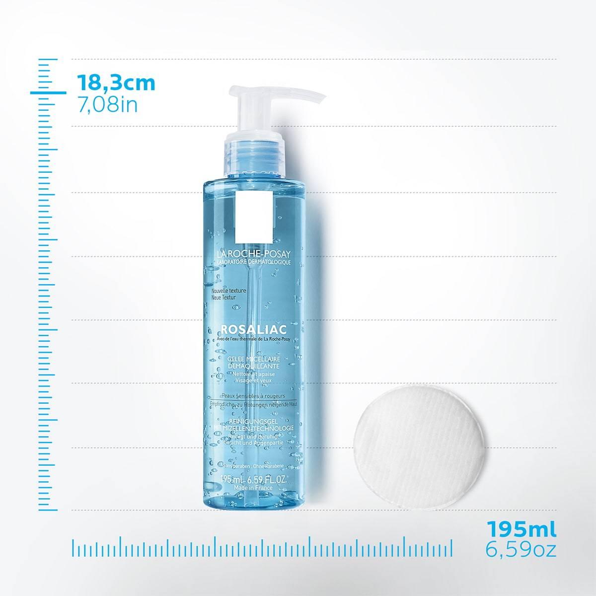 La Roche Posay Tuotesivu Face Cleanser Rosaliac Make Up Removal Gel