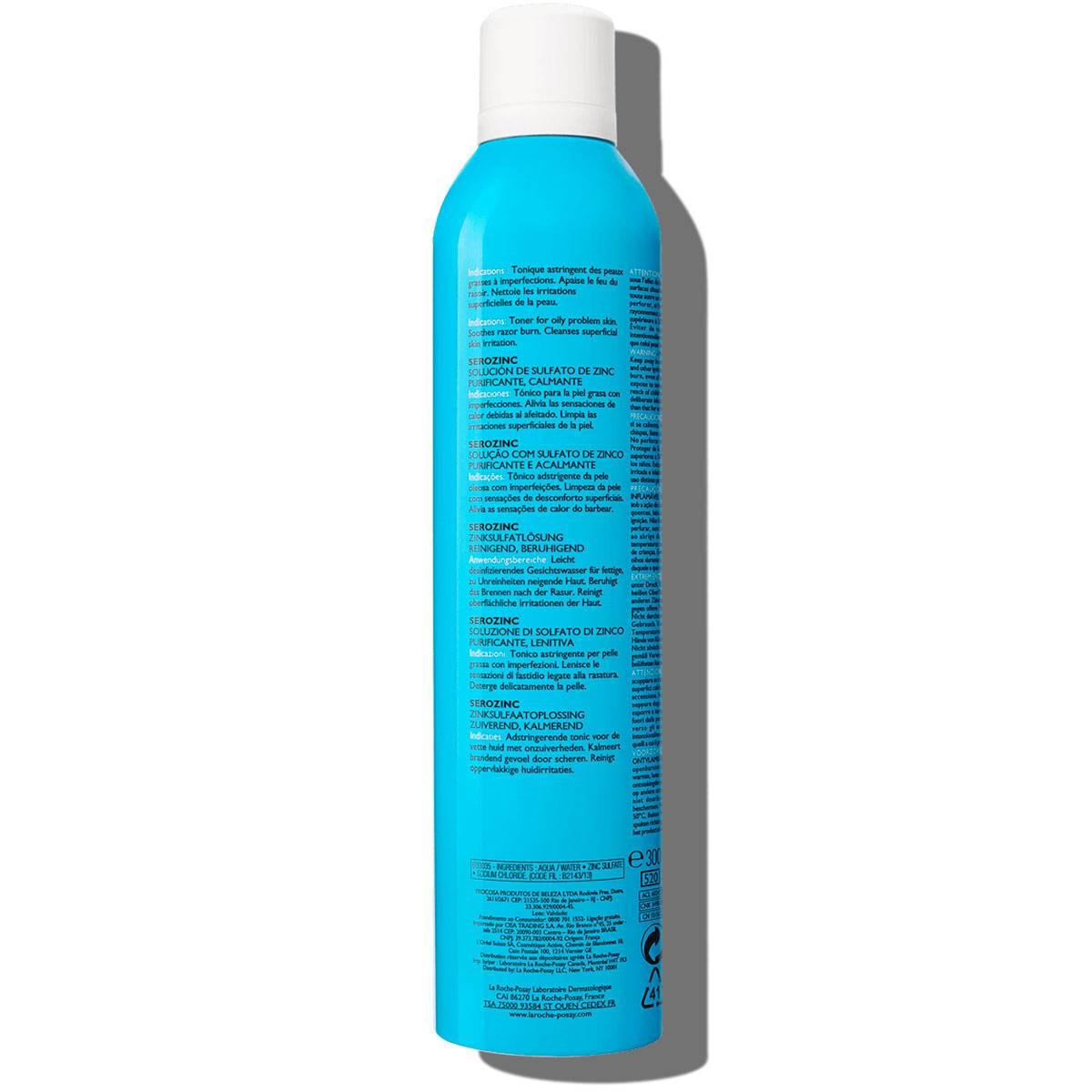 La Roche Posay Tuotesivu Serozinc Spray Zinc 300ml 3337875565783 Bac