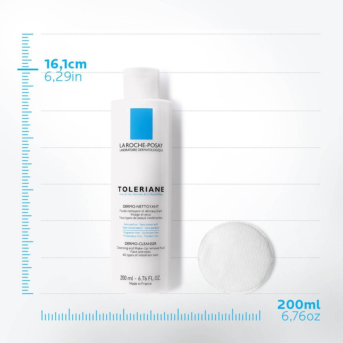 La Roche Posay Tuotesivu Herkkä atopiaan taipuvainen Toleriane Dermo Cleanser