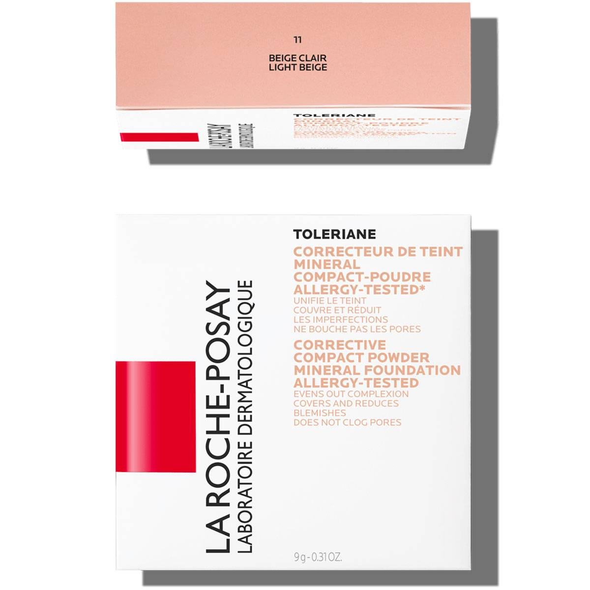 La Roche Posay Herkkä Toleriane Make up COMPACT POWDER 11LightBeige