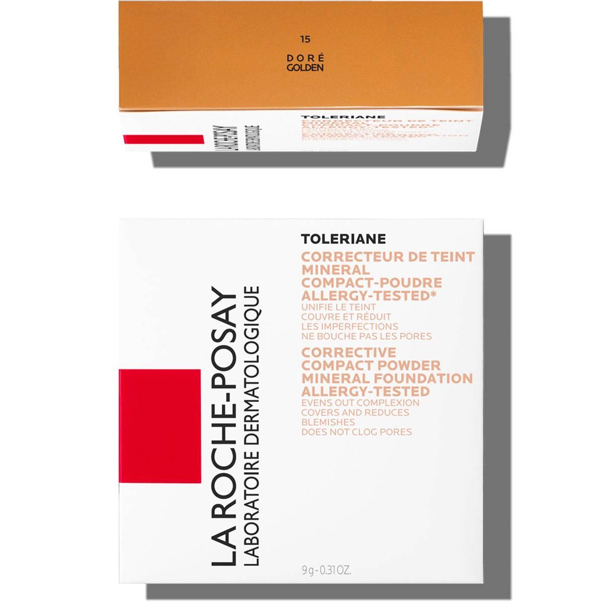 La Roche Posay Herkkä Toleriane Make up COMPACT POWDER 15Golden 333
