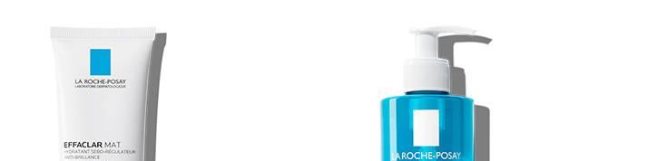 La Roche Posay Epäpuhtauksiin taipuvainen effaclar-sarjan sivun alaosa