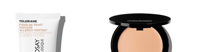 La Roche Posay meikki-sarja sivun alaosa