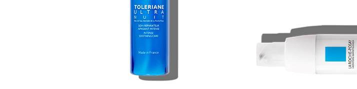 La Roche Posay herkän ihon toleriane-sarja sivun yläosa